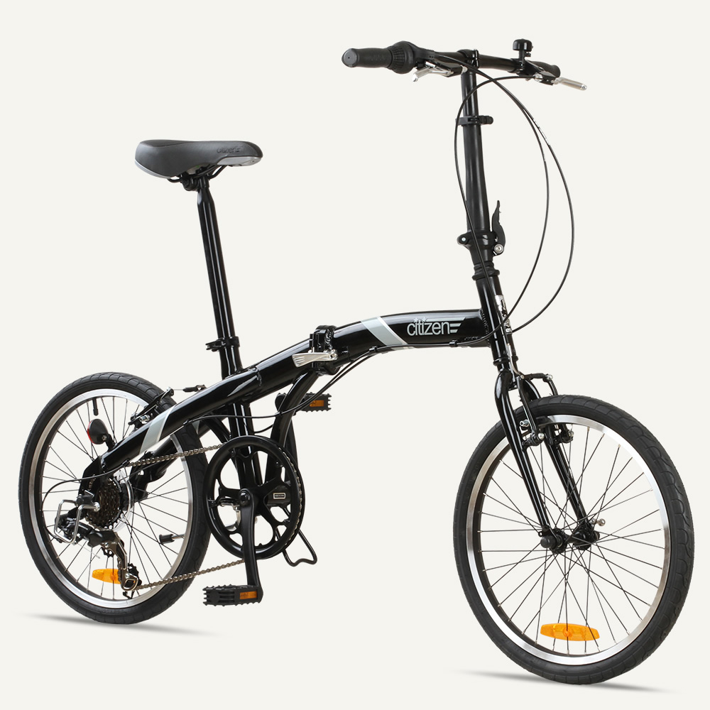 "SEOUL Citizen Bike 20"" 6-speed Folding Bike with Alloy Frame"