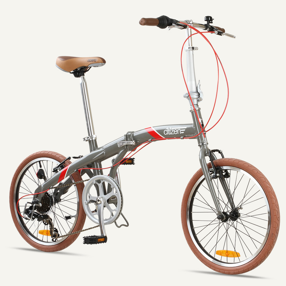 "SEOUL Citizen Bike 20"" 7-speed Folding Bike with Alloy Frame"